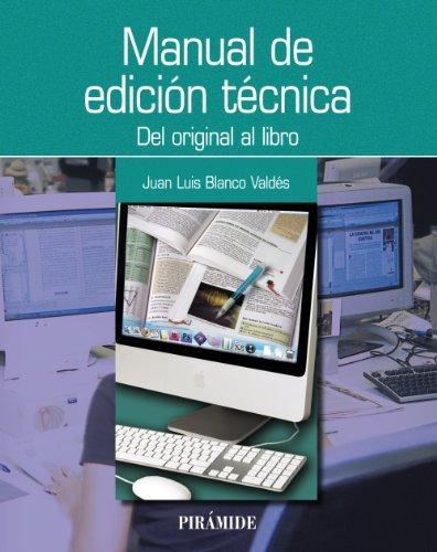 Manual de edición técnica (Ozalid) por Juan Luis Blanco Valdés