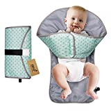iZiv Portable Clean Hands Changing Pad, 3-in-1 Diaper Clutch, Changing Station, Diaper-Time Playmat