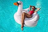 Schwan Luftmatratze Schwimmliege Badeinsel aufblasbar Schwimminsel 150cm #3500