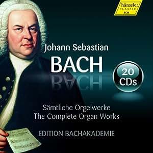 Bach: Complete Organ Works [Kay Johannsen, Andrea Marcon, Wolfgang Zerer] [Hanssler Classic: 98.02]