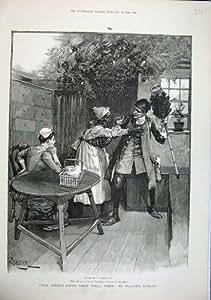 Signora 1886 del Servo di Arti di Forestier Man Eye Patch Signora