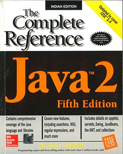 Java 2: The Complete Reference, Fifth Edition