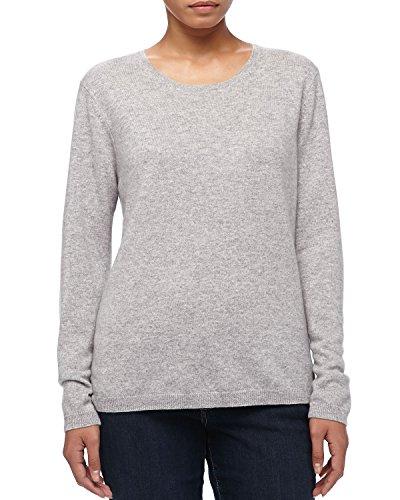 Victoria's Secret Moda International Damen-Sweatshirt, Baumwolle, Gr. S, Grau Gr. S, grau (Pullover Von Victoria Secret)