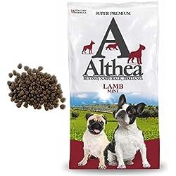 Althea Lamb Mini 1kg–Pienso monoproteiche al Cordero pescado para perros de talla pequeña, naturales al 100%