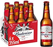 """Budweiser Classic """"Non Alcoholic """" Beer - 355 ml  ("""