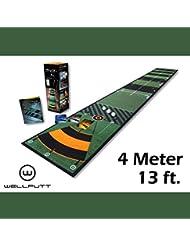 Welling PlayaPutt Putting Matte 4metros, 400x 50cm–El original de Well | un crédito Golf regalo o regalo de Navidad