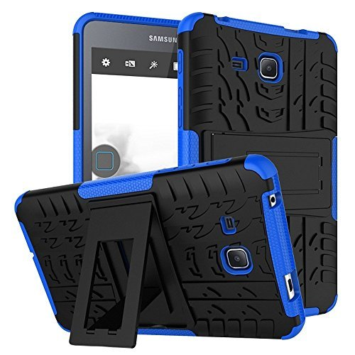 Tab A 7.0 Inch Tablet Hülle DWaybox 2in1 Combo Hybrid Armor Rugged Heavy Duty Hard Back Hülle Schutzhülle mit kickstand für Samsung Galaxy Tab A 7.0 Inch SM-T280 / T285 / Samsung Tab A6 7.0