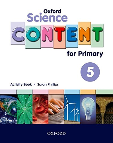 Science Content 5th Primary Activity Book - 9780194637206