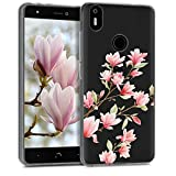 kwmobile TPU Silicone Case for bq Aquaris X/X Pro - Crystal
