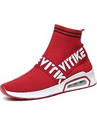 Chaussures de Sport Ultra-légères pour Femmes Chaussures de Sport à Coussin d'air Baskets Mode Chaussures pour Garçon Fille