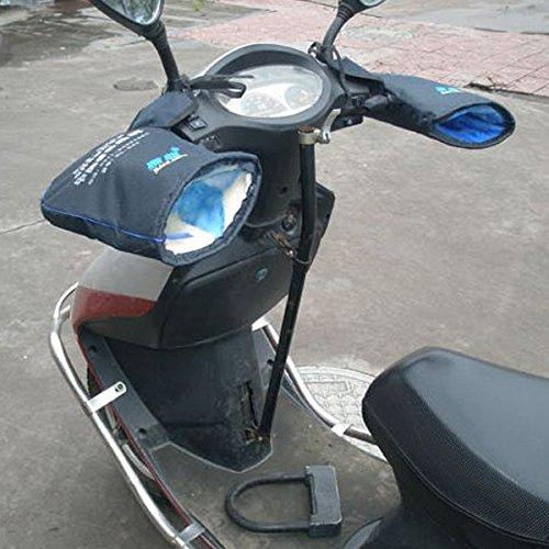 mark8shop Motorrad Handschuhe Kalten Wind Proof Scooter E-Bike Winter Schutz