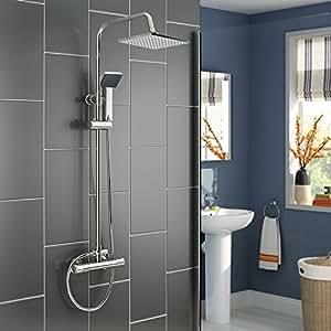 anaelle pandamoto colonne de douche fixe mitigeur avec. Black Bedroom Furniture Sets. Home Design Ideas