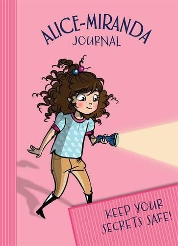 Alice-Miranda Journal with lock and key