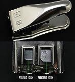 satkit d'Dual Carte SIM vers MicroSIM et microSIM à NanoSim