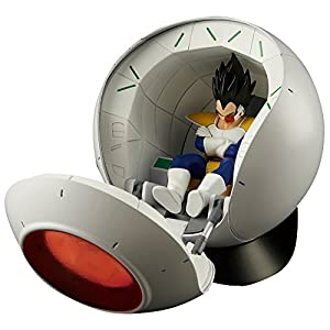 Bandai Hobby- Saiyan Space Pod Model Kit Replica 25 cm Dragon Ball Z Figure-Rise Mechanics 83330P, Multicolor… 7