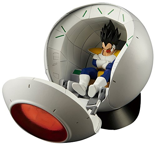 Bandai Kit de Modelismo / Maqueta Figure-rise Mechanics Dragon Ball cápsula nave espacial Saiyan Vegeta