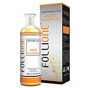 FolliOne Shampoo for Hair Growth and Recovery. Regrows Hair in 2 Minutes a Day. Reverse Hair Loss Without Changing Your Routine