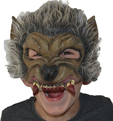 olf Masken für Kinder (Werwolf Maske Halloween)
