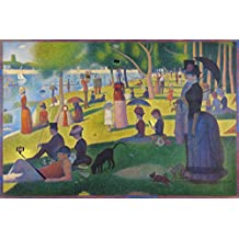 Modern Sunday Afternoon on the Island of La Grande Jatte Seurat Art Humor Poster 30x46 cm
