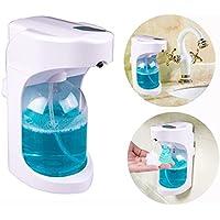 Distributeur de savon automatique / Distributeur de savon liquide mousse fabriquée avec rayon infrarouge intégré / 4 piles durables pour 40000 fois / 500 ml