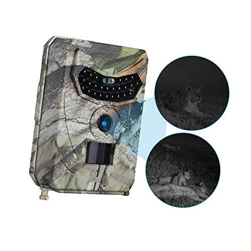 AOTUO 1080p HD-Video, Pr-100 Jagdkamera 110 ° Weitwinkel Wasserdichte Tierkamera, IR Nachtsicht Überwachung Tierkamera Camo-video-kameras
