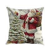 Wohnkultur Kissenhülle Vovotrade Weihnachten Weihnachtsmann Färben Schlafsofa Xmas Home Decor Sofa...