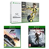 Xbox One S (500GB) with FIFA + Forza Horizon 3 + Rise of the Tomb Raider