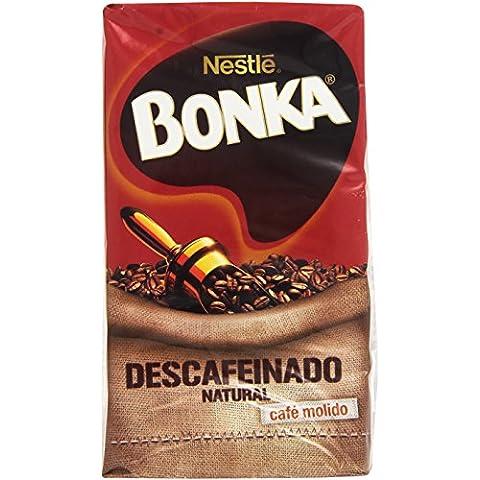 Bonka - Café tostado molido descafeinado - Natural - 250 g