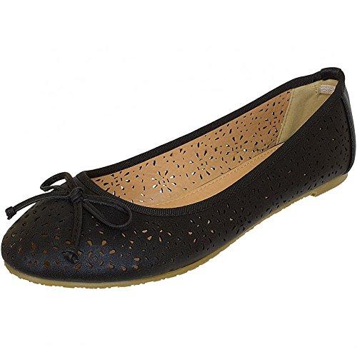 Refresh Shoes, Ballerine donna Nero nero Nero (nero)