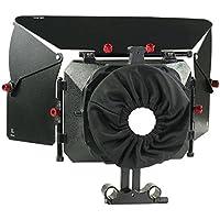 PROAIM Cámara de vídeo de Alto grado caja de mate con cámara DSLR con diámetro exterior 95mm | Incluye portafiltros y adaptador de barra de 15 mm (P-MB-600)
