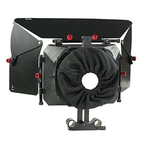 Proaim Mattebox matte box Cover for DSLR shoulder Rig Focus 15mm Rods Camera (P-MB-600)