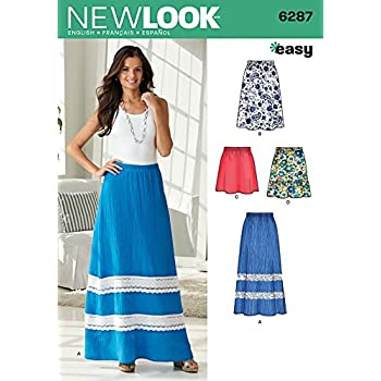 Butterick Ladies Easy Sewing Pattern 5431 Simple Skirts Butterick-5431-M