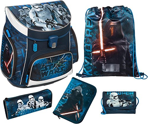 Scooli Campus UP Schulranzen-Set 5-tlg Star Wars SWMK star wars
