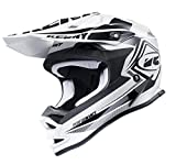 Casque Kenny Performance Blanc Noir 2017