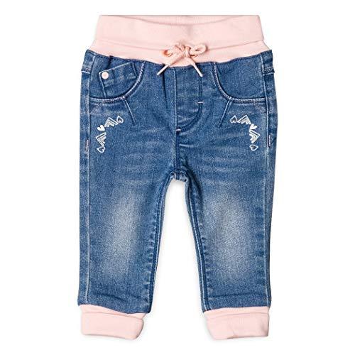 ESPRIT KIDS Baby-Mädchen Jeans RM2906110, Blau (Medium Wash Denim 463), 68