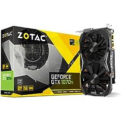Zotac ZT-P10710G-10P Carte Graphique Nvidia GeForce GTX 1070 Ti Mini