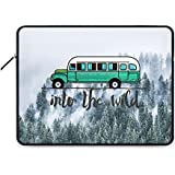 "DailyObjects Into The Wild Bus Zippered Sleeve For 13"" Laptop/MacBook"