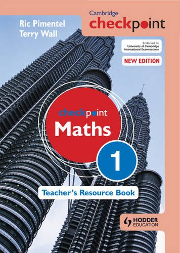 PDF Cambridge Checkpoint Maths Teacher's Resource Book 1