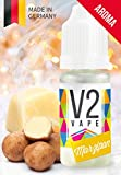 V2 Vape Marzipan AROMA/KONZENTRAT hochdosiertes Premium Lebensmittel-Aroma zum selber mischen von E-Liquid/Liquid-Base für E-Zigarette und E-Shisha 30ml 0mg nikotinfrei