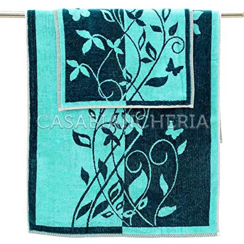 Mirabello CARRARA Paar Handtücher Tiffany grün
