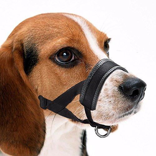 Hunde Maulkorb Hundefreundlich Maulkorb Leicht Fit für Hunde Verstellbare Hund Maulkorb Maulkörbe Anti-Biss Barking Komfortable Maulkorb Maske