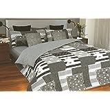 Juego de sábanas estampado Estrellas INDIANA (para cama de 135x190/200)