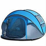 GUO 3 grande spazio esterno vento campeggio pioggia velocità automatico aperta tenda sole lancio mano