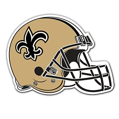 Fremont Die Consumer Products F98826 8 in. Magnet Helmet - New Orleans Saints by Fremont Die (New Orleans Saints Magnet)