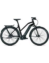 Kalkhoff E-Bike Integrale Excite i8 17 Ah Damen Trapez schwarz 2018