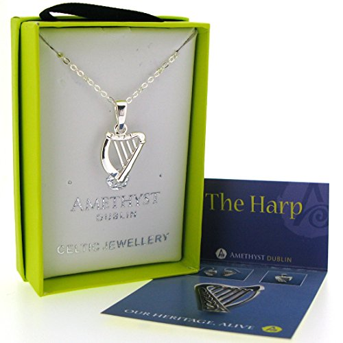 silver-plated-amethyst-harp-pendant-presented-in-a-box