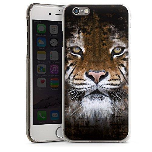 Apple iPhone 5 Housse Outdoor Étui militaire Coque Tigre Animaux Félin CasDur transparent