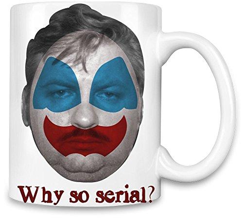 Why so john wayne gacy Kaffee Becher