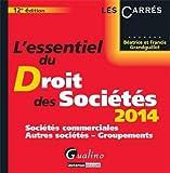 L'essentiel du droit des sociétés 2014
