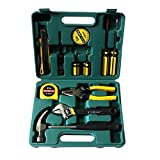 #6: 11 pcs Household Took Box Kit Utility Cutter Claw Hammer Tape Measure 8